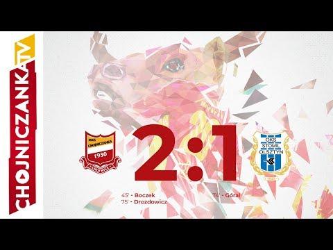 Skrót meczu Chojniczanka Chojnice - Stomil Olsztyn 2:1