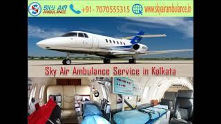 Get Sky Air Ambulance Service with Hi-tech Medical Aid in Guwahati