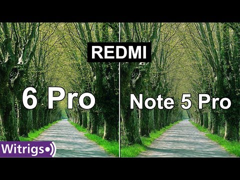 Redmi 6 Pro vs Redmi Note 5 Pro Camera Test | Camera Review | Low Light Photo Comparison