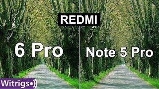 Redmi 6 Pro vs Redmi Note 5 Pro Camera Test   Camera Review   Low Light Photo Comparison