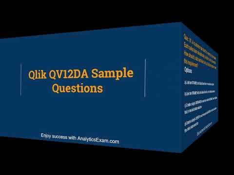 Get An Attractive Score in QlikView Data Architect (QV12DA ...
