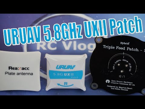URUAV UXII Patch Antenna. Ground Range Test