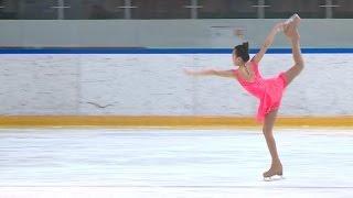 В Ледовом дворце прошли заключительные в этом сезоне Открытые соревнования по фигурному катанию на коньках