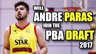 Andre Paras PBA D-League Game Review | PBA Draft 2017 Prospect ᴴᴰ