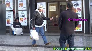Dropping Money in Public (Social Experiment in Sweden)