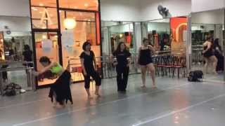 """Fusion Belly Dance Class with Kru'Jodie (Beat It """"Arabic Version"""" by Michael Jackson)"""