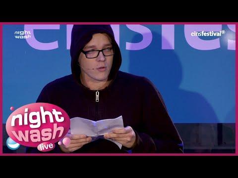 Nico Semsrott kann sich an Depressionen gut aufhängen - NightWash