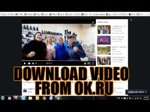 download video from ok ru online