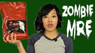 ZOMBIE MRE - Z-Ration Taste Test