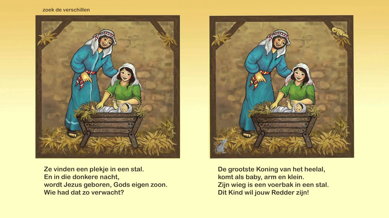 Kinderlied: Jezus is geboren