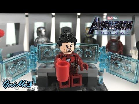 Vidéo LEGO Marvel Super Heroes 76125 : La salle des armures d'Iron Man