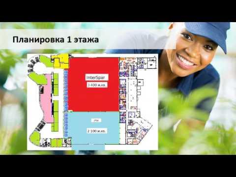 Видео Помещение в Торговом центре в г. Брест