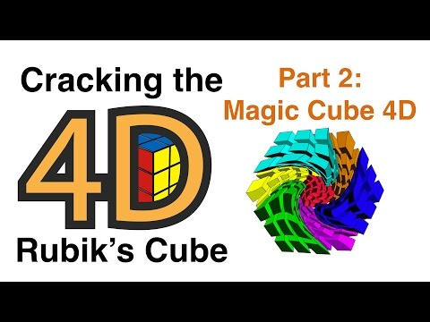 Cracking The 4D Rubik's Cube With Simple 3D Tricks Part 2:  Magic Cube 4D Mp3