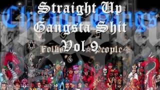 Straight Up Gangsta Shit vol 9 Chicago Rap Mix Tape