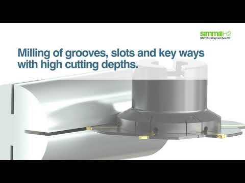 simmill H2 – milling of grooves, slots and key ways