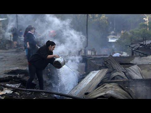 Χίλη: Κάηκαν 200 σπίτια στο Βαλπαραΐσο