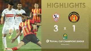 CL CAF : Zamalek SC 3-1 Espérance de Tunis