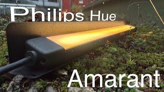 Philips Hue Amarant - der neue Outdoor Wandfluter