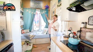 After Suffering Loss She Moved In Her Custom Tiny House - Finding Peace By Living Simply