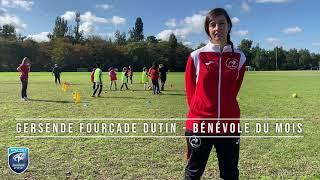 Bénévole du Mois - Gersende Fourcade Dutin - Coqs Rouges Bordeaux