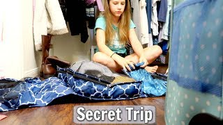 Packing for a Secret Trip with my Best Friend Annie Rose!!
