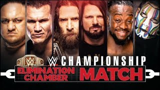 WWE Elimination Chamber 2019 Official And Full Match Card