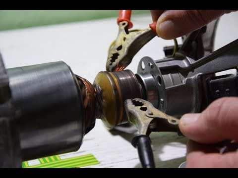 How To WIRE Washer Machine Electric Motor - part 3 (Electric Rotor Operation)