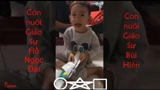 Cậu bé lớp 1 đánh vần tiếng việt kiểu mới độc lạ cực hài - Con nuôi GS Bùi Hiền + GS Hồ Ngọc Đại