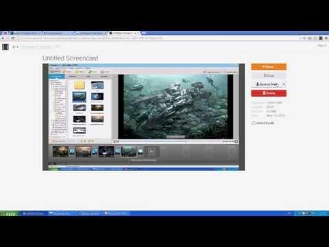 Как записать видео с экрана с помощь Screencastify
