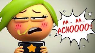 AstroLOLogy | THE BIG SNEEZE | Funny Cartoons | Cartoon Crush