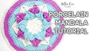 HOW TO CROCHET A MANDALA   Bella Coco Crochet Ad
