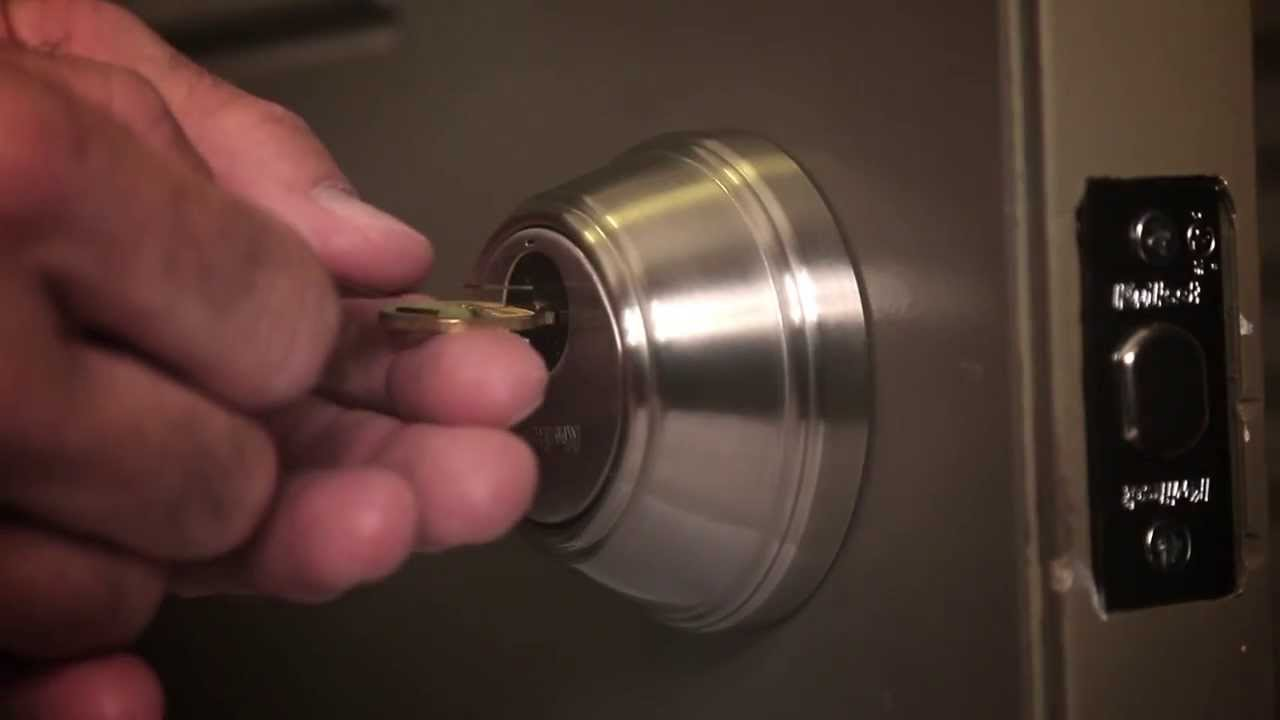 How to Re-Key a Key Control Deadbolt Lock | Kwikset Smartkey Technology