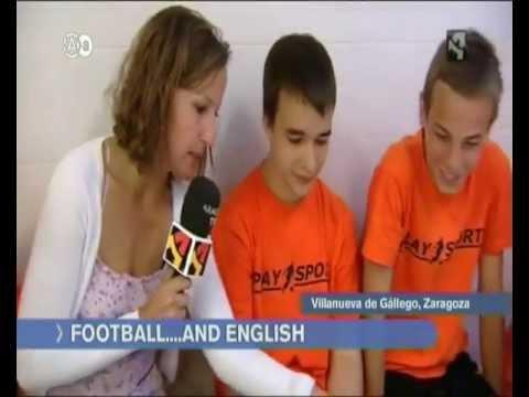 Aragón en Abierto - Football & English Camp 2012