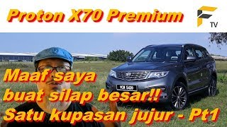 Proton X70 vs Honda CR-V vs Kia Sorento: Ulasan paling komprehensif. Bahagian 1