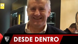 El Valladolid 0 - Sevilla 2 Desde Una Perspectiva Muy Cercana