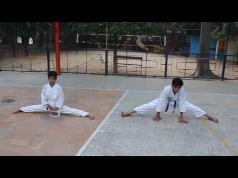 chirag chauhan karate training