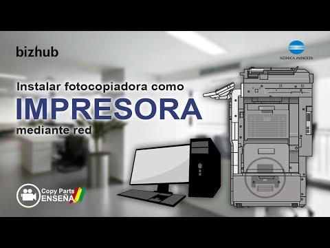 [Tutorial] Como Instalar fotocopiadora Konica Minolta bizhub como Impresora