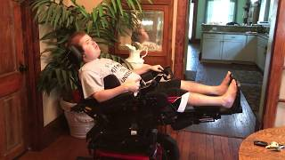 Wheelchair Stretching: Combined Stretch