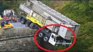 Heavy equipment Accidents caught on Live Camera, disaster accidents compilation