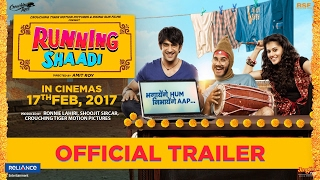 RunningShaadi.com | Official Trailer | Taapsee Pannu | Amit Sadh | Releasing 17th Feb 2017