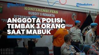 Oknum Polsek Kalideres Bripka CS dalam Keadaan Mabuk Tembak 3 Orang hingga Tewas