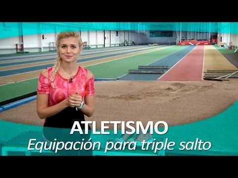 ATLETISMO 19 | Equipación y materiales para el triple salto