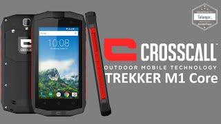 CROSSCALL Trekker M1 Core - Wasserdichtes und widerstandsfähiges Smartphone - IP67 4G Smartphone