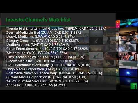 InvestorChannel's Media Watchlist Update for Tuesday, Augu ... Thumbnail