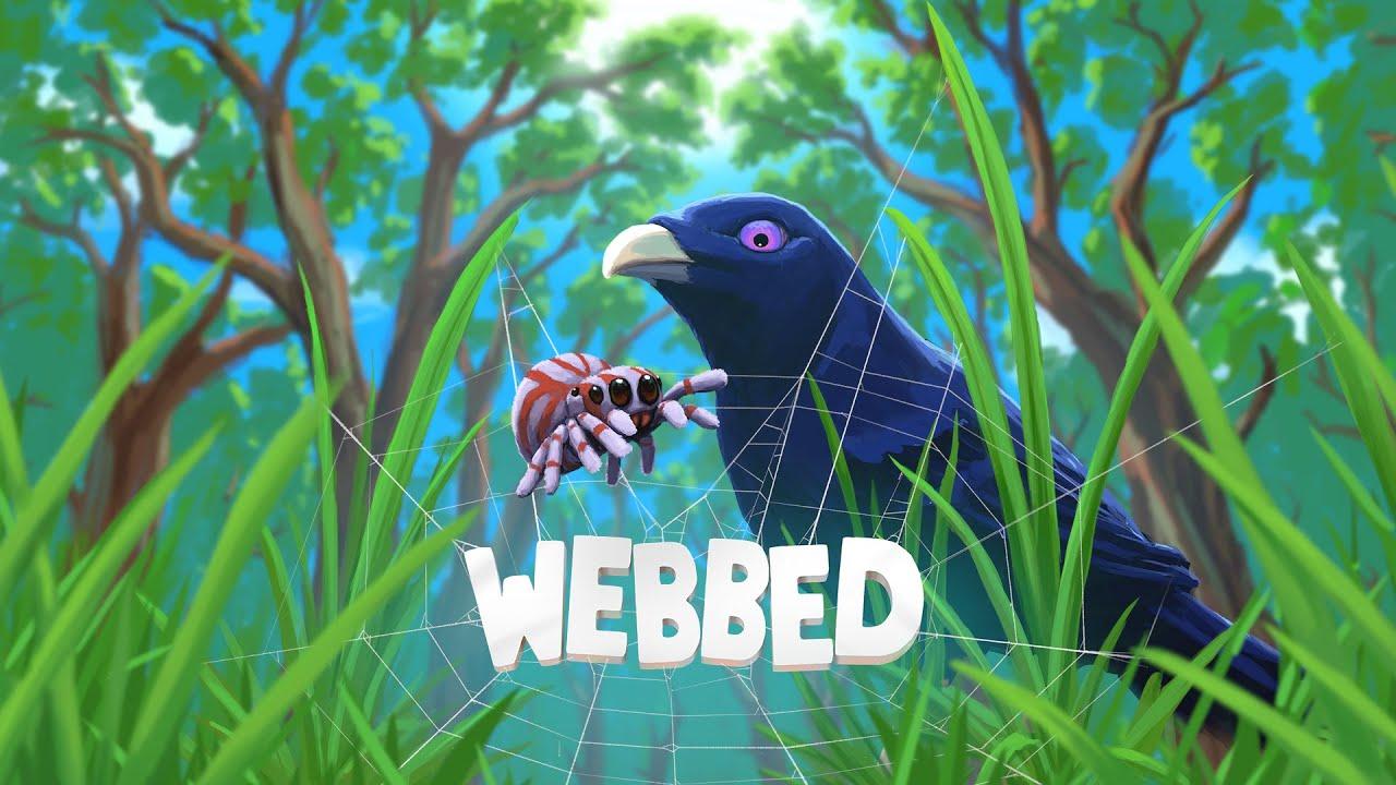 由Sbug Games《Webbed》,講述小蜘蛛到處去冒險、交朋友的獨立遊戲 Maxresdefault