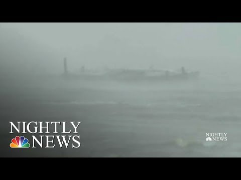 Dorian To hit Nova Scotia, Residents Stranded On North Carolina Coast | NBC Nightly News