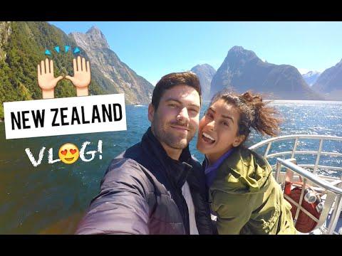 Video Travel Vlog: NEW ZEALAND Contiki Trip | Sazan Hendrix