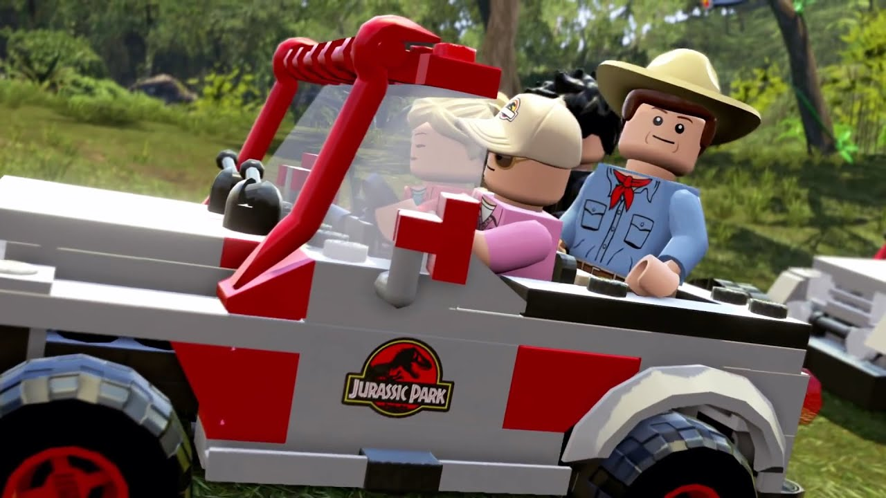 LEGO Jurassic World Trailer # 2 #VideoJuegos #Consolas