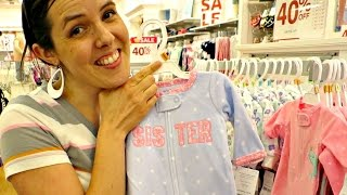 BABY Clothes Shopping!