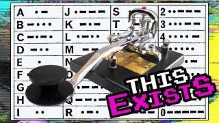 Secret Morse Code messages in music